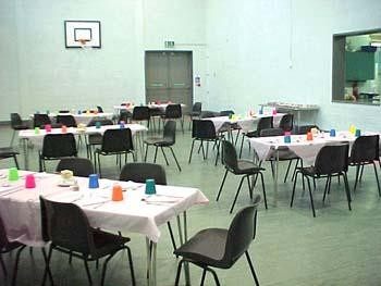 Luncheon in Sports Hall